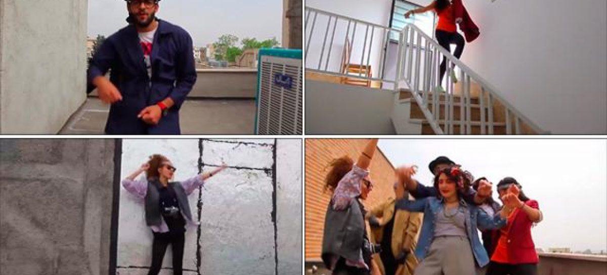 """Al ritmo de """"Happy"""" en solidaridad con los jóvenes iraníes"""