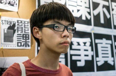 Joshua Won, el joven lider de las protestas predemocracia en Hong Kong