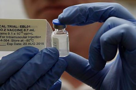 La vacuna contra el ébola puede estar lista para 2015