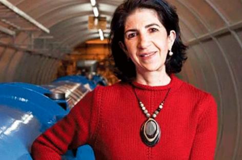 Fabiola Gianotti, la primera mujer en dirigir el CERN