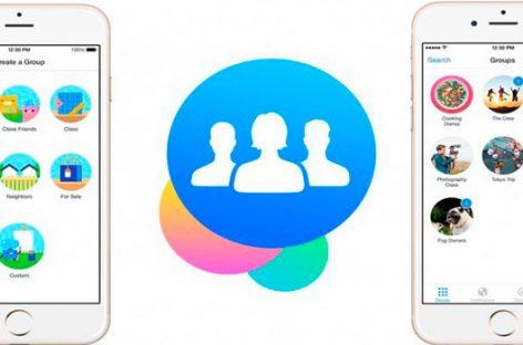 Facebook Groups, la red social potencia las conversaciones grupales
