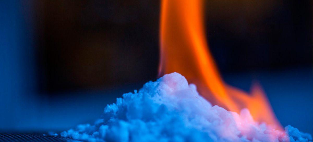 """Fuego de hielo"" como alternativa energética"