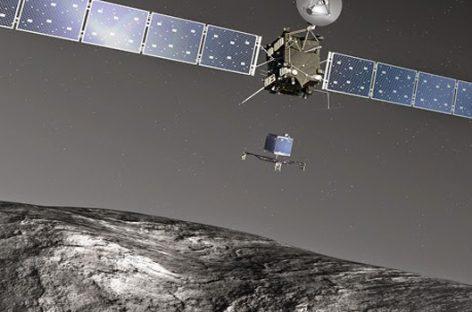 La misión Rosetta marca un hito histórico