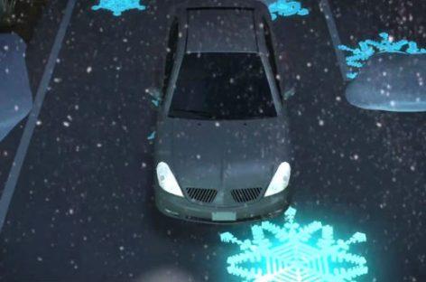 Autopistas fluorescentes e inteligentes para una conducción más segura