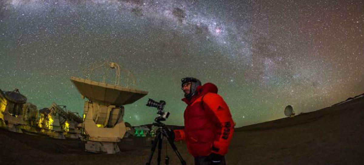 Belleza y astronomía se unen en el llano de Chajnantor
