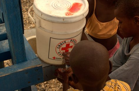 Cruz Roja, cinco años en Haití