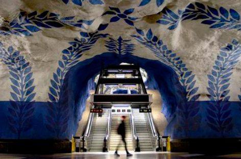Subte Estocolmo, la galería de arte más larga del mundo