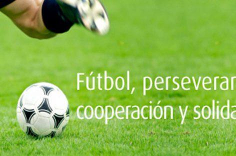 El poder solidario del fútbol
