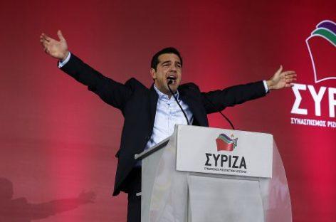 Grecia inicia el cambio en Europa