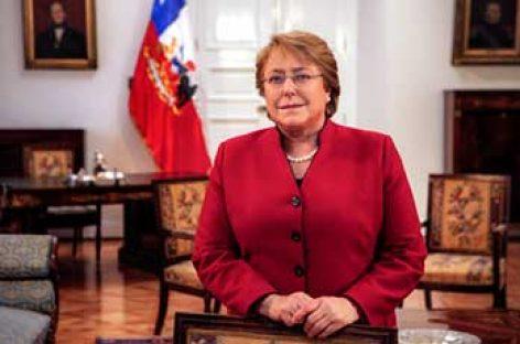 La segunda etapa de Bachelet en Chile