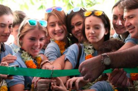 Fundación Vicente Ferrer. Cooperación entre colegios España-India