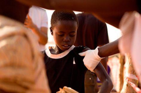 MSF. Acción contra el sarampión en Sudán del Sur
