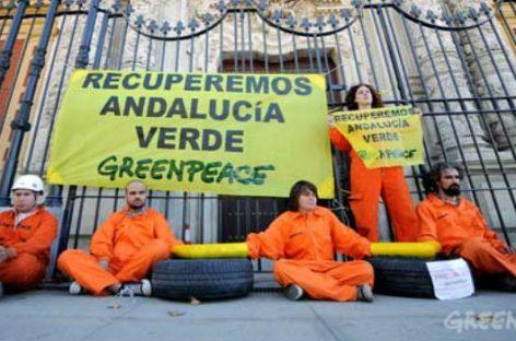 Greenpeace. Nueve propuestas medioambientales para Andalucía