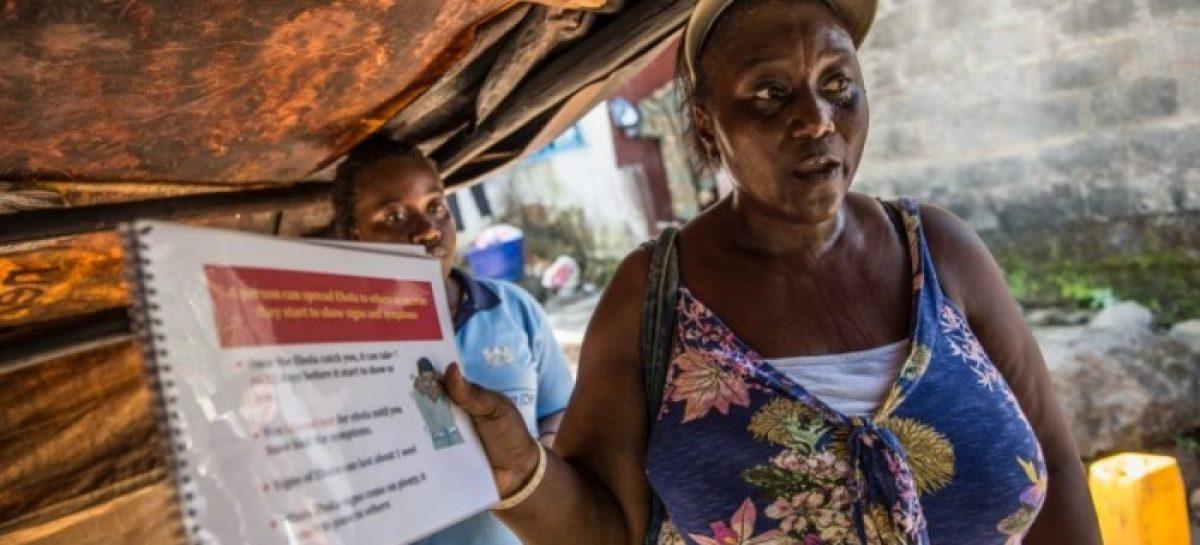 Oxfam dice conocer la clave para vencer al ébola