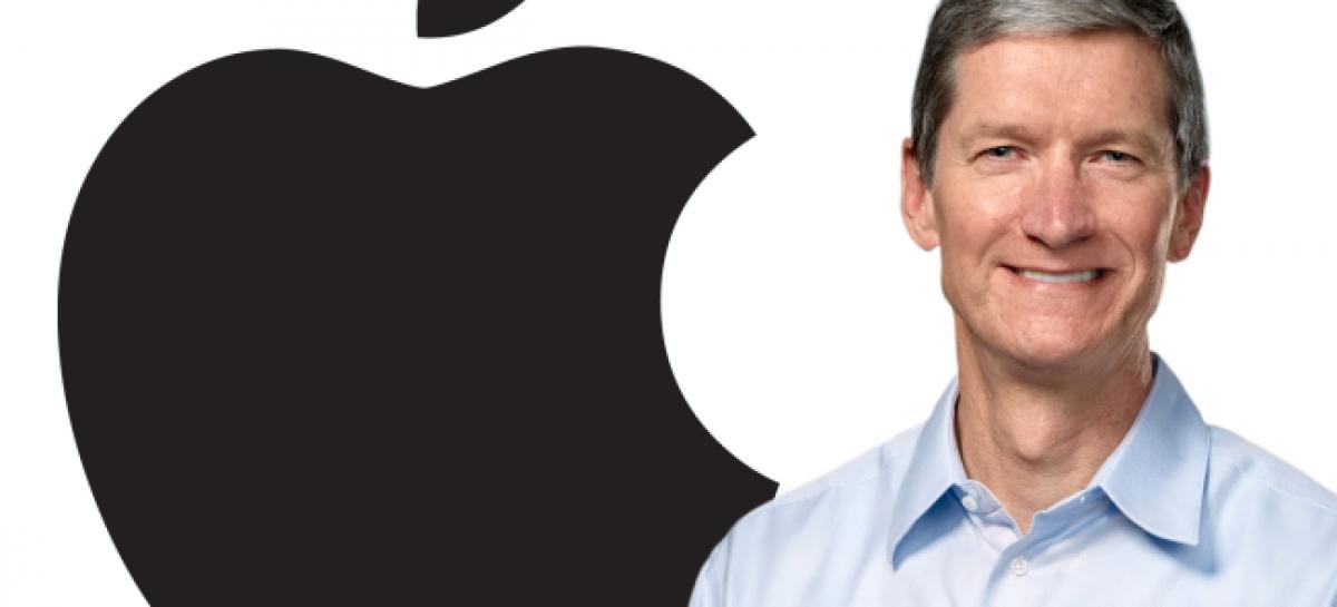 Tim Cook, jefe de Apple, donará toda su fortuna