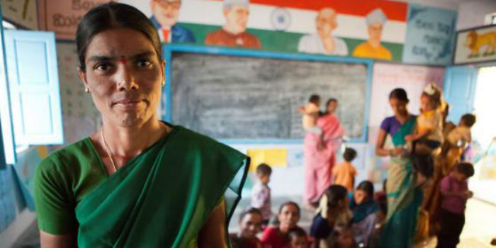 Fundación Vicente Ferrer: mujeres apoyando a mujeres