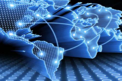 El mapa de internet en todo el mundo