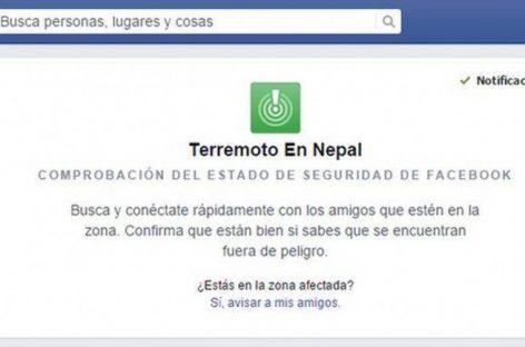 Facebook y Google ayudan a buscar sobrevivientes en Nepal