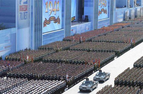 Rusia celebra la victoria sobre los nazis