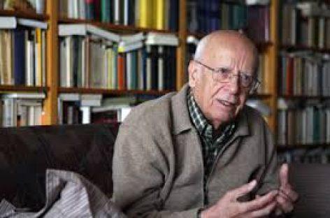 El filósofo Emilio Lledó es galardonado con el Premio Princesa de Asturias de Comunicación y Humanidades 2015