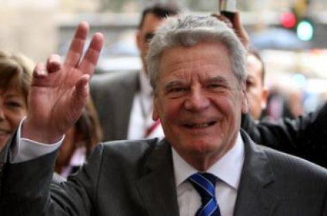 El presidente de Alemania apoya indemnizar a Grecia por los crímenes del nazismo