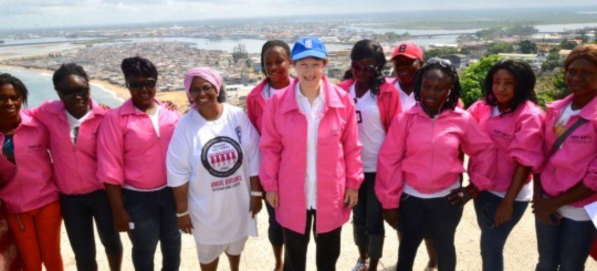 Pink Panther, una historia de superación en Liberia