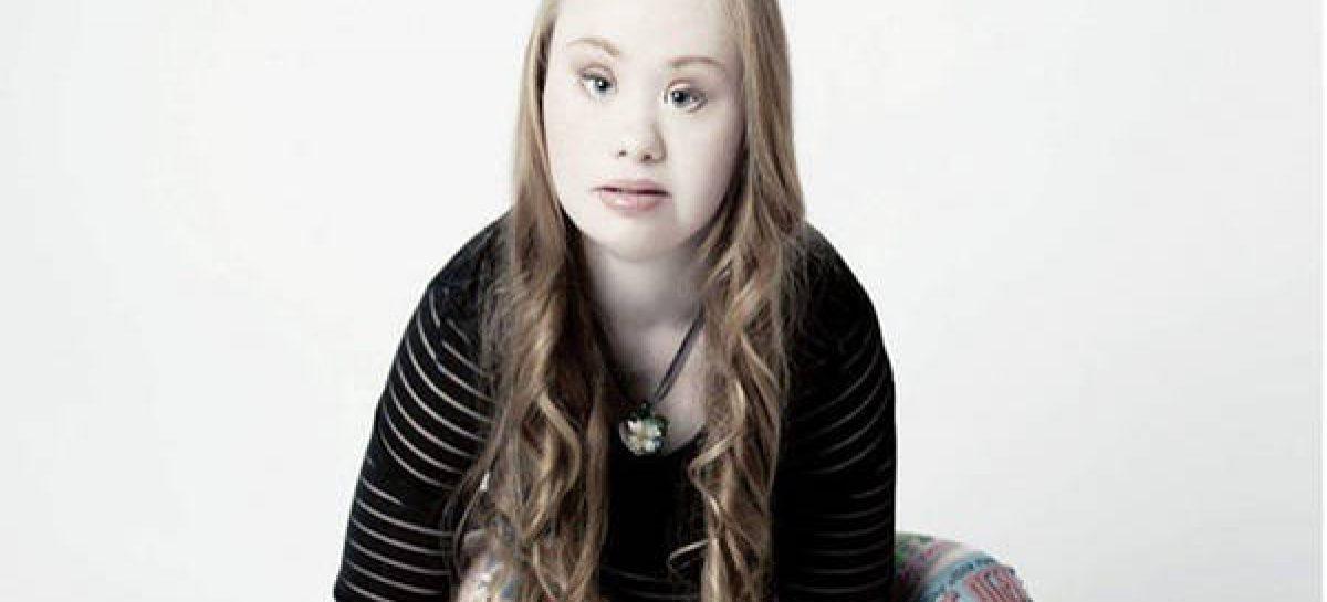 La joven con síndrome de Down que promete revolucionar los estereotipos de la moda
