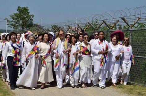 Una marcha por la reconciliación entre las dos Coreas
