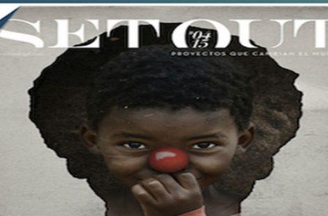 La revista de Ipad 'To Set Out' dedica íntegramente uno de sus números a Payasos Sin Fronteras