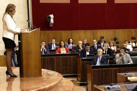 Andalucía, Susana Díaz propone un gran pacto contra la corrupción