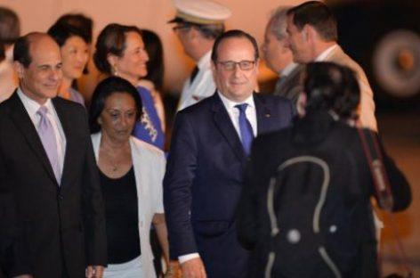 La histórica visita de Françoise Hollande a Cuba