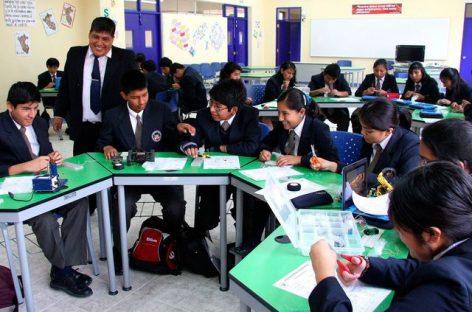 Perú ofrece educación de calidad a jóvenes de familias de bajos recursos
