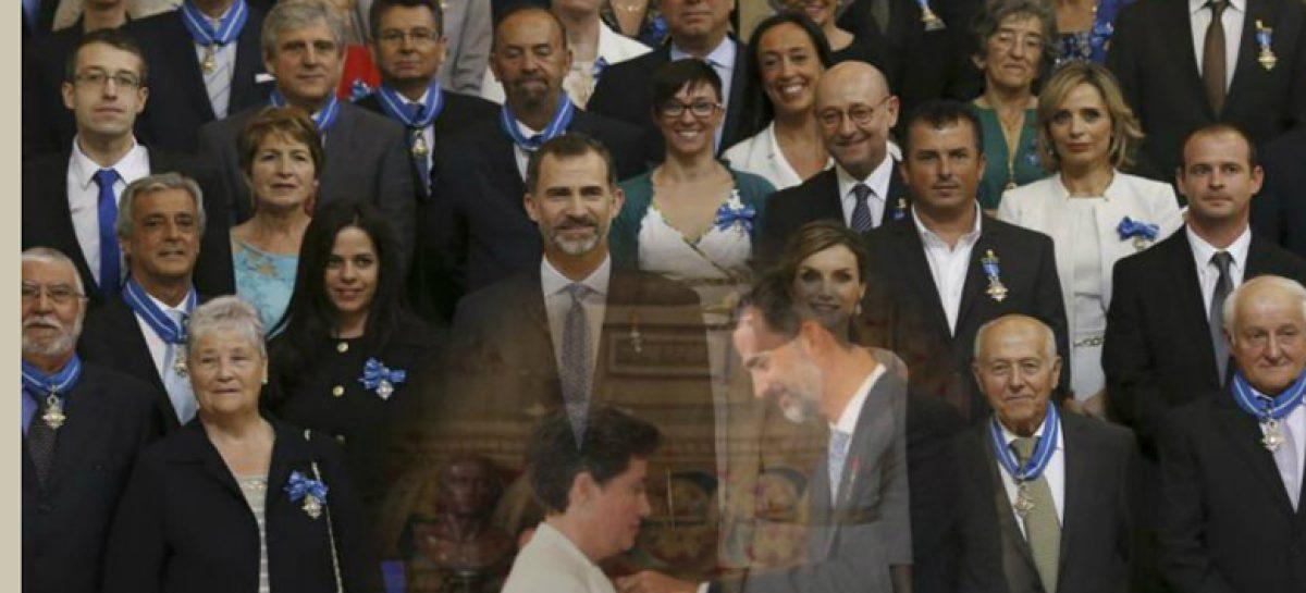 La delegada de Manos Unidas en Ceuta, una de los 'héroes anónimos' condecorados por el rey