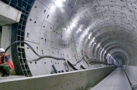 Las novedosas obras del crossrail londinense