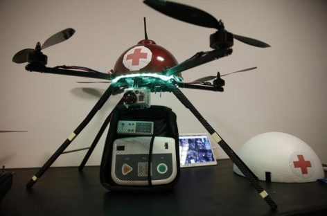 Drones al rescate en accidentes