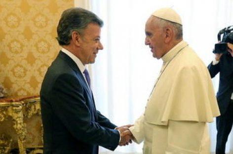 El Papa Francisco I ofrece su ayuda en la mediación entre Colombia y las FARC