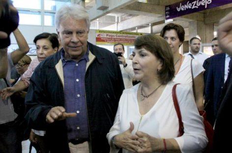 Felipe González logra visitar al alcalde de Caracas en arresto domiciliario