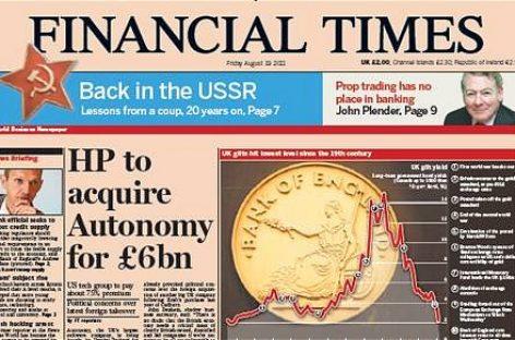 El diario económico británico 'Financial Times' considera que el avance de Podemos y Ciudadanos podría ser una bendición para España