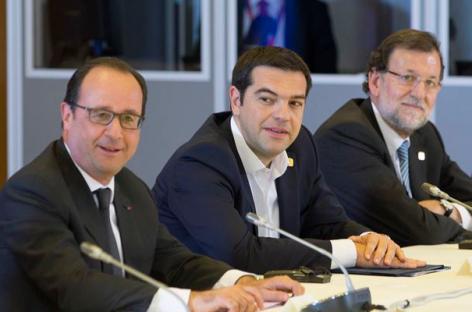 Líderes europeos confían en cerrar acuerdo con Grecia esta semana