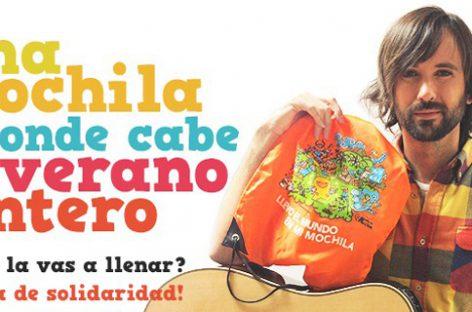 Ayuda en Acción lanza una súper mochila que apadrinaría a miles de niños este verano