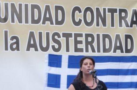 """La izquierda española se une: """"Todos somos Grecia"""""""