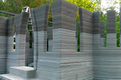 Un vivienda construida por una impresora 3D