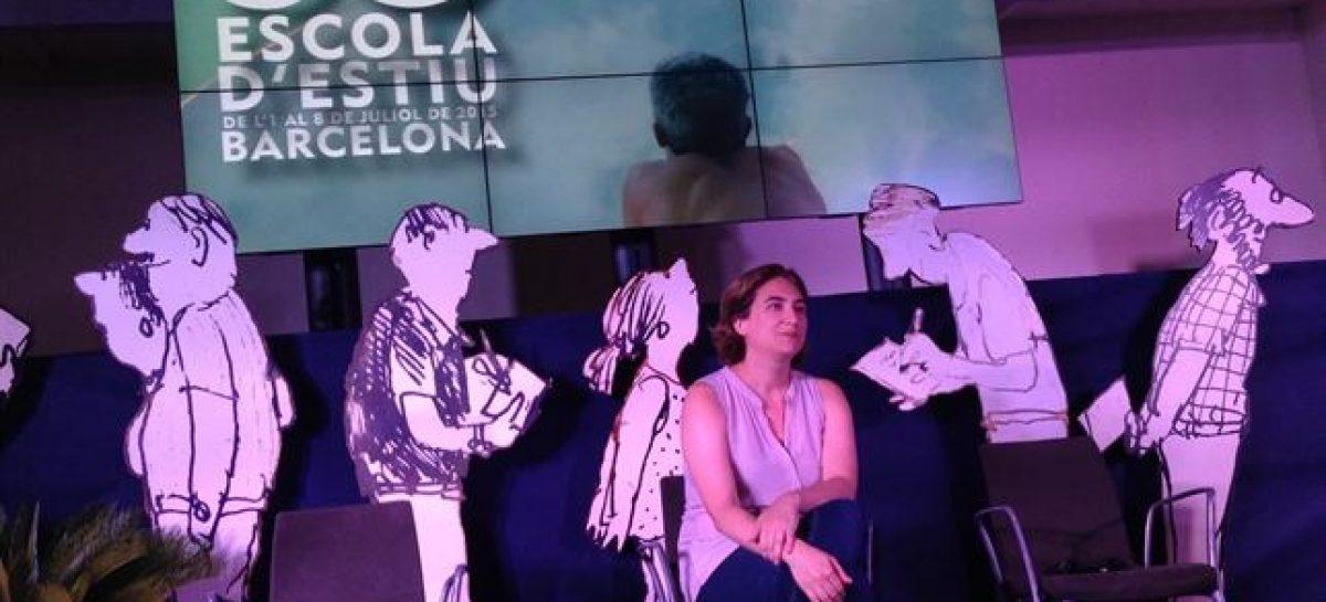 La alcaldesa Ada Colau paraliza la privatización de dos guarderías en Barcelona