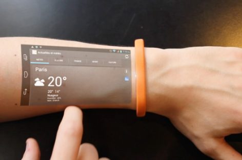 La tableta del futuro se lleva en la piel