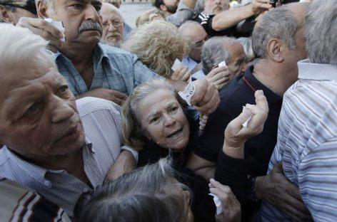"""Grecia: una """"guerra sin bombas"""" que hay que parar"""