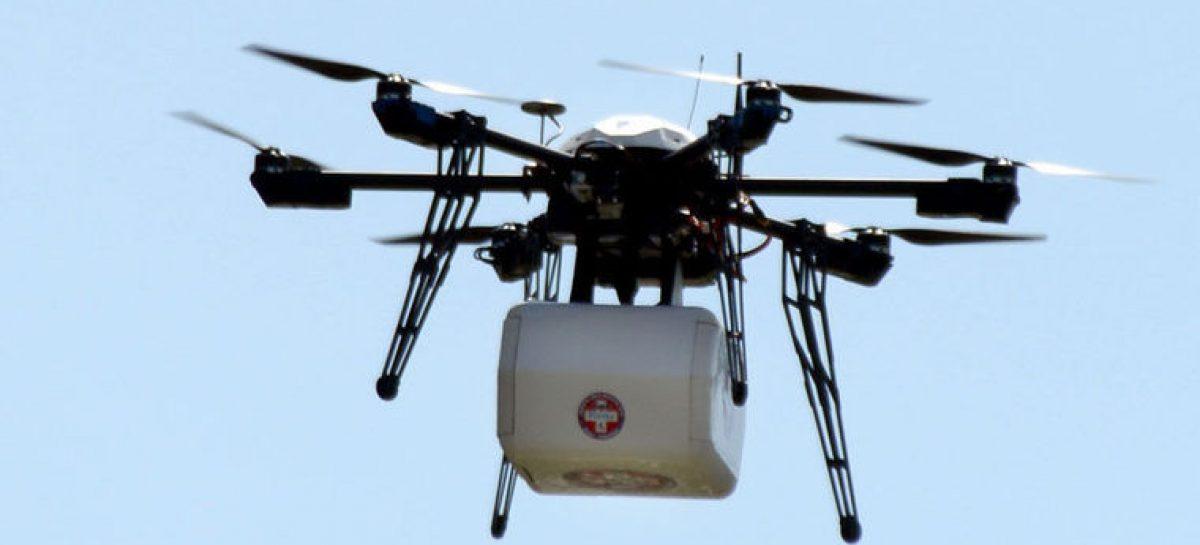 La entrega de medicamentos con un drone se hizo posible en EE.UU