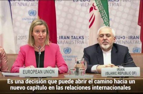Un histórico pacto nuclear de Estados Unidos e Irán