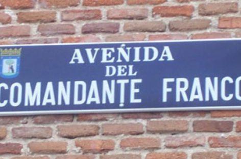 Madrid aplicará la ley de Memoria Histórica