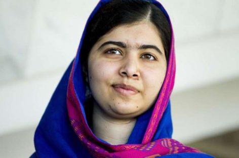 La Premio Nobel de la Paz Malala Yousafzai pide a los líderes que 'compren libros, no balas'