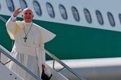 El papa llega a América Latina